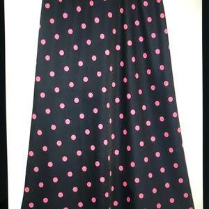 Brand new Zara polka dot skirt